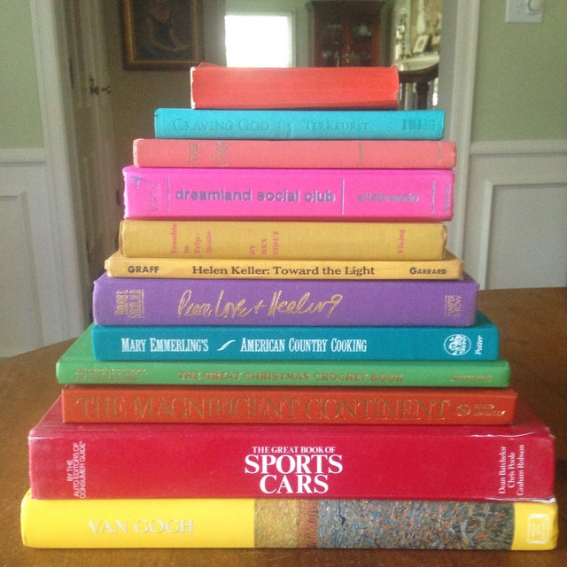 Brightly Colored Decorative Books - Set of 12 - Image 11 of 11