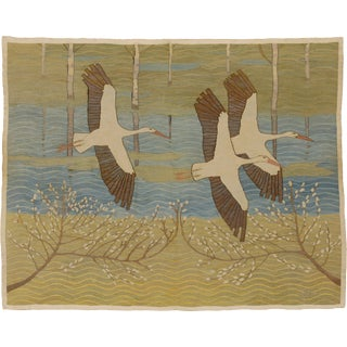 Early 20th Century Swedish Wall Hanging by Ernst Norlind For Sale