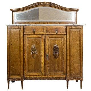 Art Nouveau Oak Sideboard, circa 1910-1920 For Sale