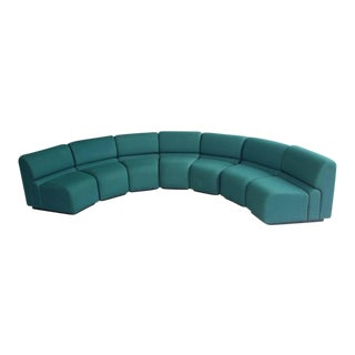 Don Chadwick for Herman Miller Circular Seven Piece Sectional