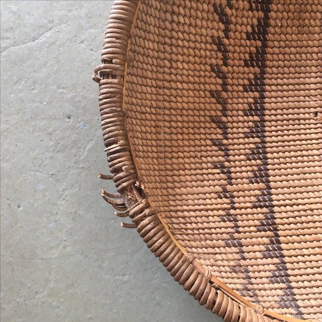 Woven Tribal Wall Basket - Image 3 of 5