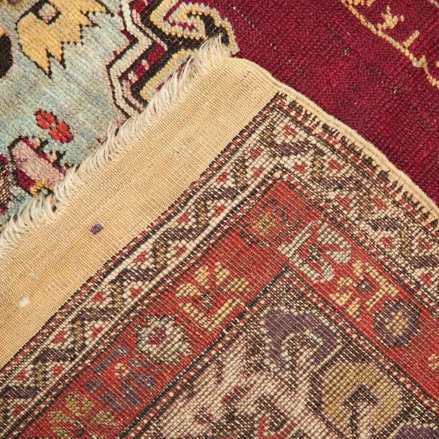 Turkish 1900 Antique Turkish Sivas Rug For Sale - Image 3 of 4