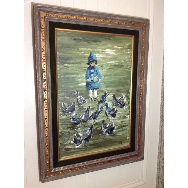 Estacien J. Benjamin Hillside Original Painting - Image 5 of 8