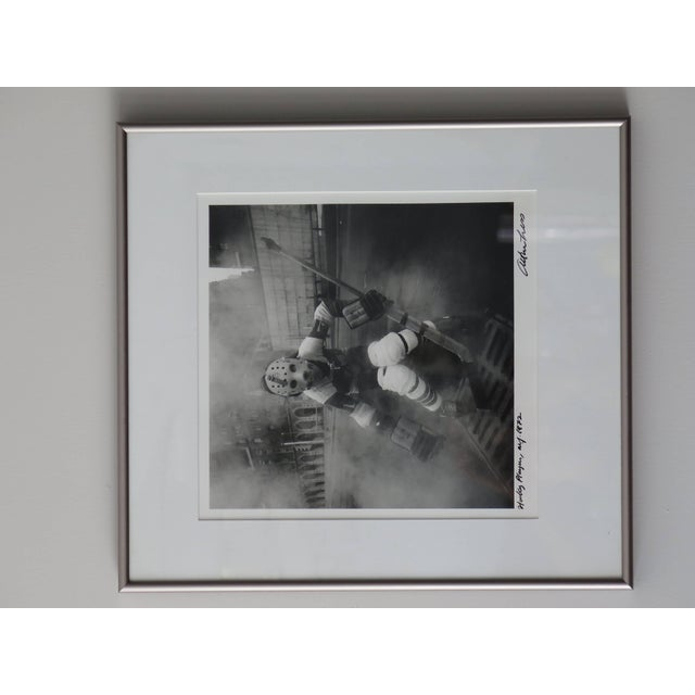 "1970s Arthur Tress ""Hockey Player"" NYC 1972 Photograph For Sale - Image 5 of 7"