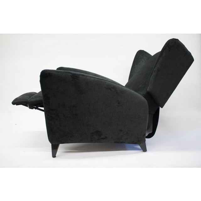 Mid-Century Reclining Wingback Chair - Image 2 of 8