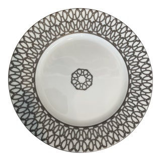 Hermès Porcelain Dessert Plate For Sale