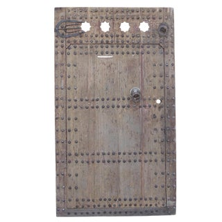Antique Moroccan Fortress Door