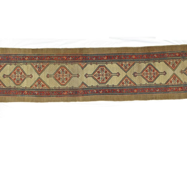 "Leon Banilivi Antique Sarab Runner - 3'5"" X 16' - Image 7 of 7"