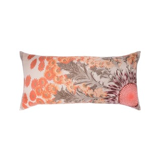 """Fleurs Et Carlines II"" Hermès Silk Scarf Pillow For Sale"