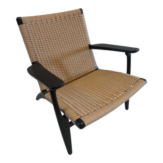 Ch25 Easy Chair by Carl Hansen & Son For Sale