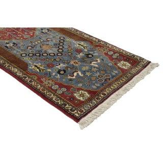 Vintage Persian Gashgai Prayer Rug, Kashgai Qashqai Pictorial Rug - 1'7 X 2'7 Preview