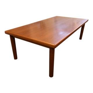 1960s Danish Modern Vejle Stole Teak Coffee Table For Sale
