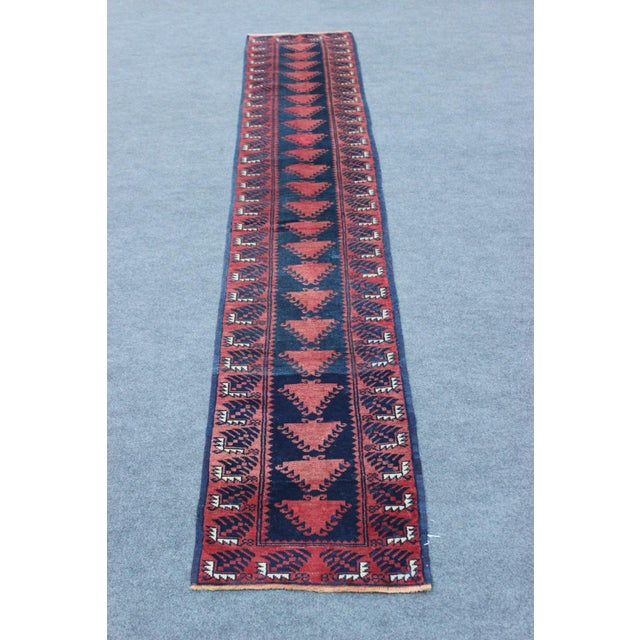 Turkish Hand Made Runner - 1′9″ × 9′5″ - Image 2 of 8