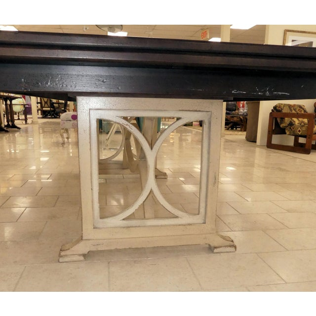White Habersham Tribeca Dining Table For Sale - Image 8 of 13