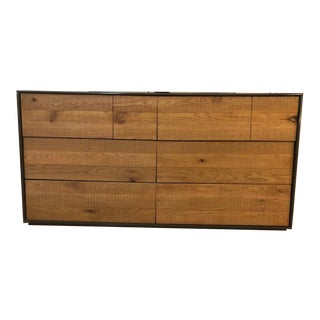 Crate and Barrel Rustic Style Dresser For Sale