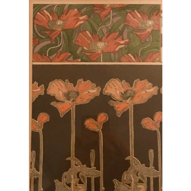 Art Nouveau Alphonse Mucha Original Lithograph - Plate 38 For Sale - Image 3 of 5