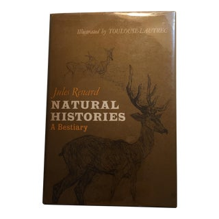 Natural Histories A Bestiary Jules Renard 1966 For Sale