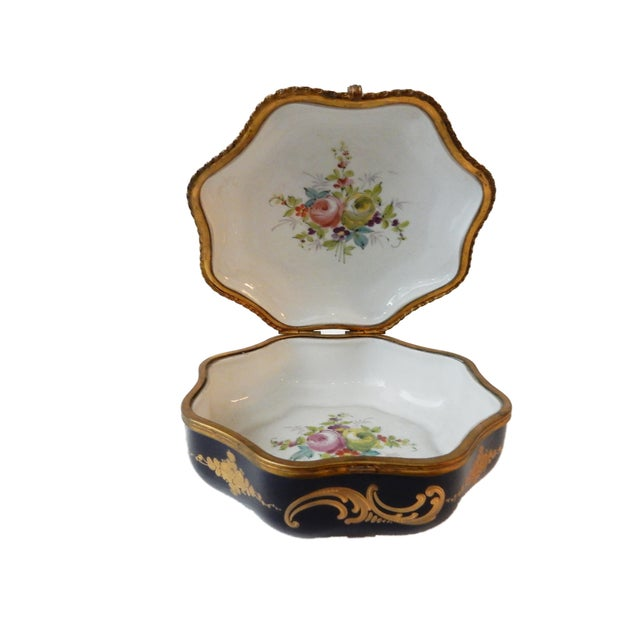 19th-C French Porcelain Dresser Box - Image 8 of 10