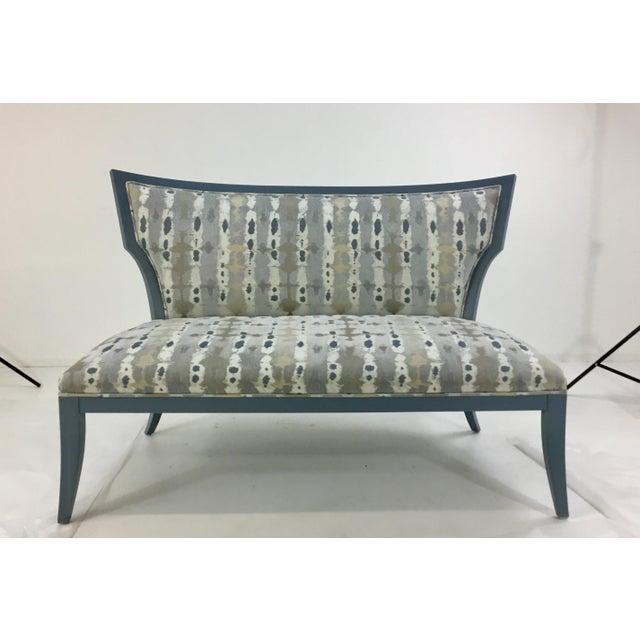 Currey & Co. Garbo Settee/Bench For Sale In Atlanta - Image 6 of 6