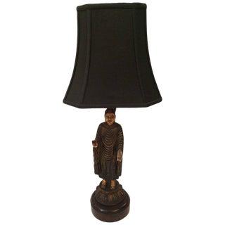 Sculptural Thai Buddha Table Lamp