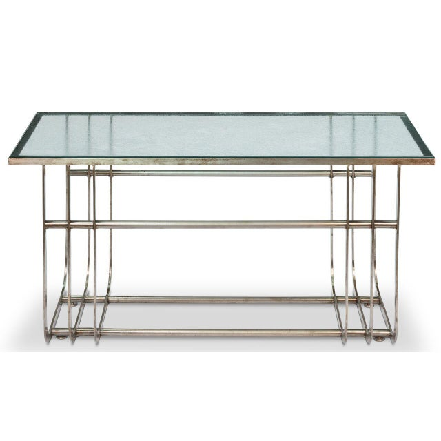 Sarreid LTD Donald Deskey Style Table - Image 6 of 9