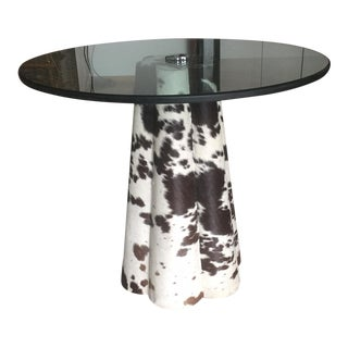 Jayson Home Cowhide Table For Sale