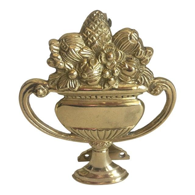 Brass Urn Door Knocker - Image 1 of 7