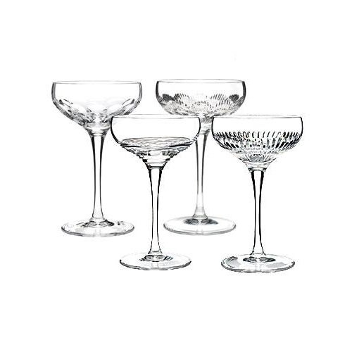 Waterford Mixology Couples Champagne Glasses Set of 4 - Image 7 of 8