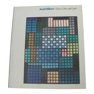 Josef Albers: Glass, Color, and Light, Guggenheim Museum Catalogue For Sale