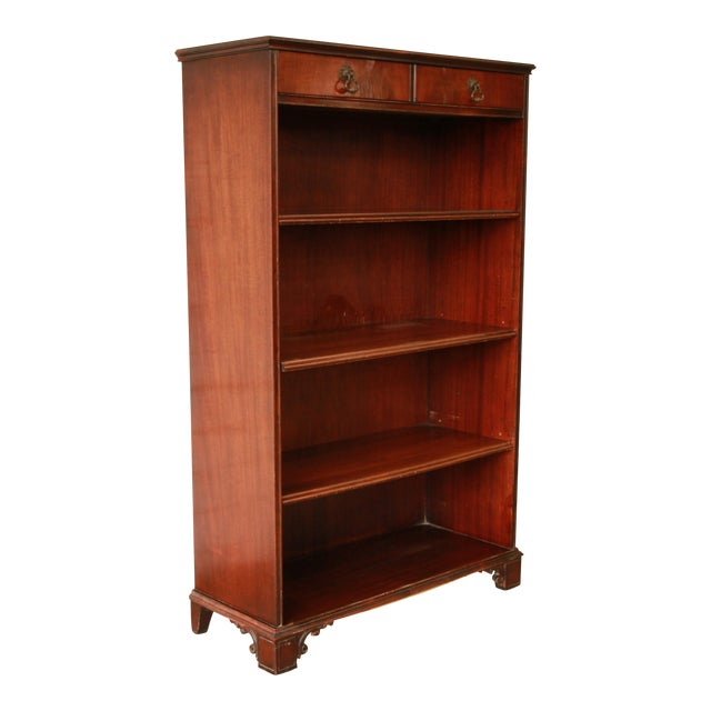 Vintage Imperial Mahogany Bookcase - Image 1 of 8