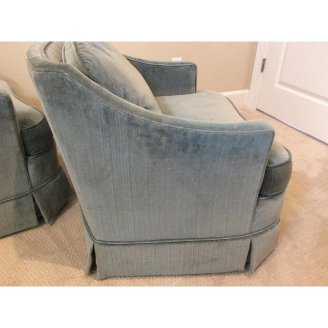 1970s Vintage Drexel Heritage Armchairs - a Pair For Sale In Tampa - Image 6 of 13