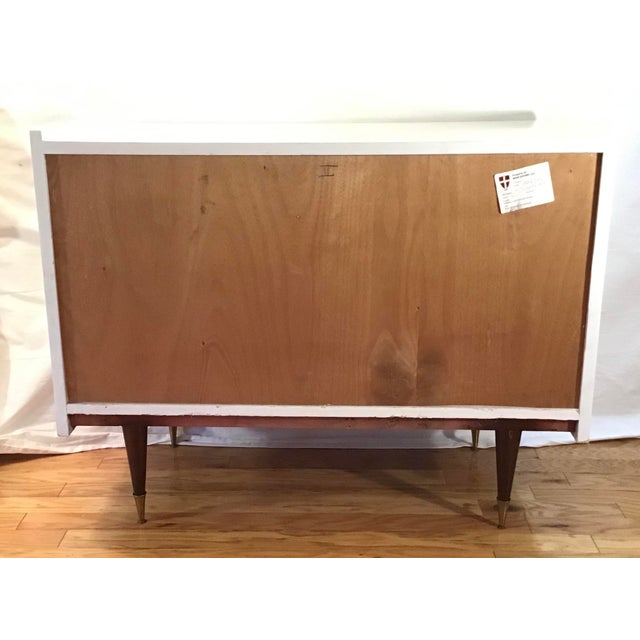 1950's Italian Chest Manner of Gio Ponti - a Pair For Sale - Image 12 of 13