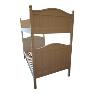 Crate & Barrel White Twin Bunk Bed Frame
