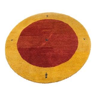 """Vintage Wool Safavieh Rug - 4'11"""" x 4'11"""" For Sale"""