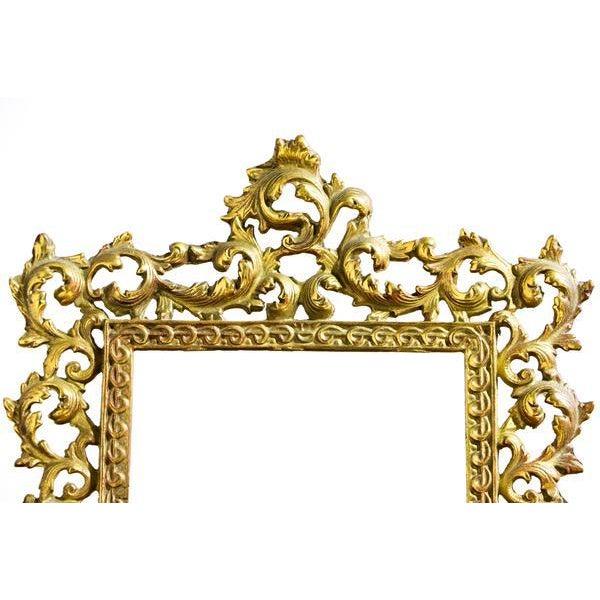 Elegant Golden Picture Frame For Sale - Image 5 of 6