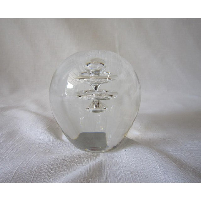 Mid-Century Modern Holmegaard Danish Paperweight For Sale - Image 3 of 7