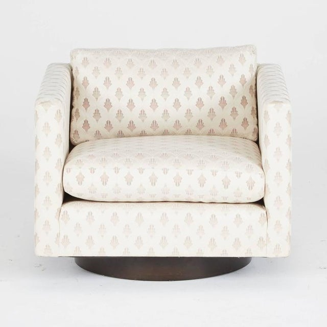 1950's Harvey Probber Swivel Club Chairs - A Pair - Image 5 of 5