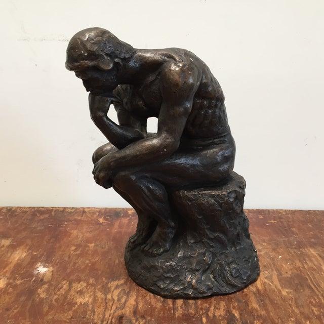 Austin Prod. 1964 Rodin Thinker Statue - Image 3 of 11