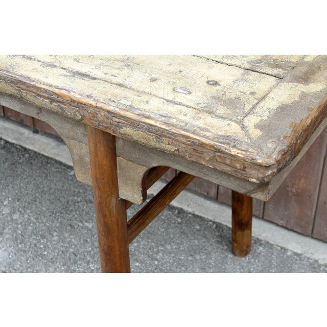 Mid 18th Century Long Mid 18th Century Altar Table For Sale - Image 5 of 7
