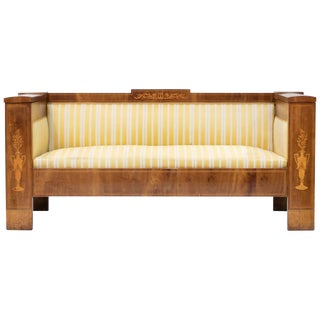 19th Century Sheraton Style Sofa For Sale