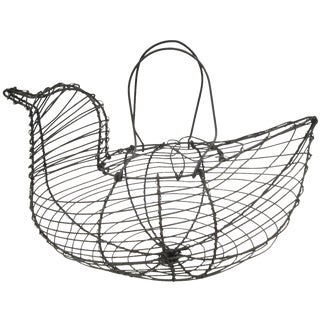 Wire Chicken Egg Kitchen Basket For Sale
