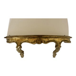 Vintage Florentine Wall Shelf For Sale
