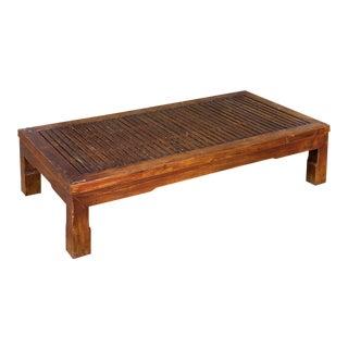 Sarreid Ltd Antique Elm Coffee Table