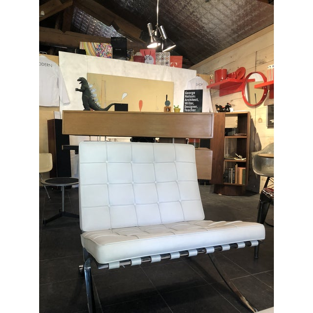 Mid-Century Modern Barcelona Chairs by Knoll For Sale - Image 3 of 6
