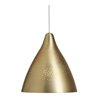 Lisa Johansson-Pape Brass '270' Perforated Metal Pendants For Sale
