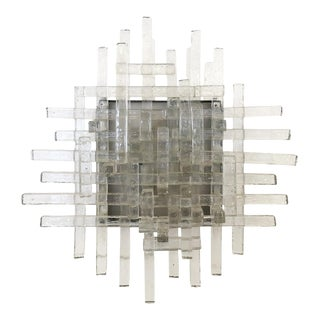 Murano Glass Sconces by Poliarte, Italy, 1960s For Sale
