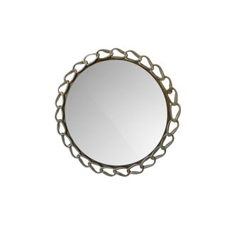 Costantini Contemporary Cast Metal Mirror For Sale