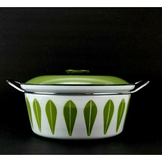 Cathrineholm Green Lotus 4qt Enamel Covered Dutch Oven Casserole Preview