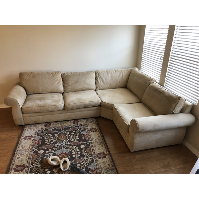 2010s Pottery Barn Pearce Sectional For Sale - Image 5 of 5