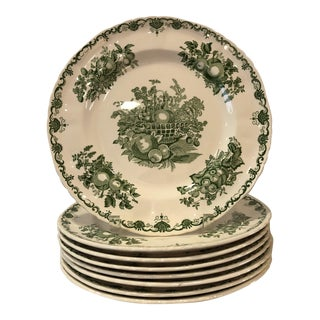 Mason's 'Fruit Basket' Dinner Plates - Set of 8